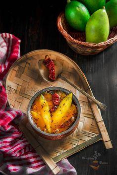 Bengali Mango Chutney Food Photography Styling