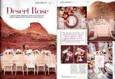 Our Juliet rose was featured in a stunning desert-themed #wedding scene in the most recent issue of Bridal Guide magazine. The #reception décor featured shades of rose-gold, coral and copper, and our deeply cupped peach Juliet was accented with peonies and a fresh, ripe peach. Follow our Pinterest page and Bride Guide magazine for even more #floral wedding inspiration.