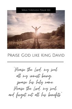 in-depth study of Psalm 103 Christian Women, Christian Living, Christian Faith, Praise The Lords, Praise God, Verses About Love, I Need Jesus, Slow To Anger, King David