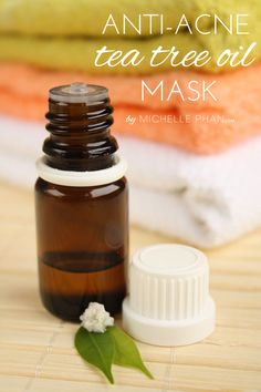 The benefits of tea tree oil - DIY anti-acne tea tree oil mask.