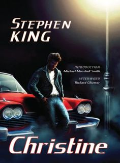 """christine"" - anniversary edition by stephen king Stephen Kings, Stephen King Books, Horror Movie Posters, Movie Poster Art, I Movie, Movie Stars, Cadillac, Classic Horror Movies, Iconic Movies"