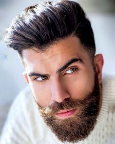 Get a healthier & thicker beard with Beard Growth Oil & grow your beard faster without any side effects. Buy best beard oil to promote facial hair growth. Mr Beard, Beard Suit, Beard Game, Sexy Beard, Moustache, Beard No Mustache, Facial Hair Growth, Beard Growth Oil, Beard Styles For Men
