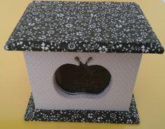 CAIXAS ARTESANAIS E OUTROS MIMOS: caixa para chá