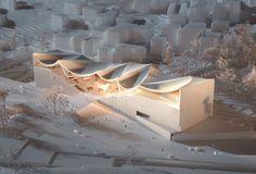 Henning Larsen Architects 'Darat King Abdullah II' Competition in Amman