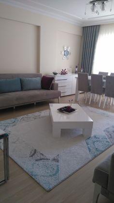 Ev Gezmesi - Salonumdan kareler Furniture Decor, Modern Furniture, Shared Rooms, Living Room Grey, Apartment Living, Decoration, Sweet Home, Home And Garden, Lounge
