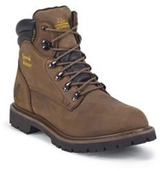 Chippewa Tough Bark Lace Up Logger Style 6 Inch Men Boots 55071