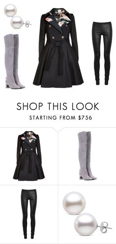 """""""Charléne"""" by lilllus09 on Polyvore featuring Ted Baker, Tory Burch and Rick Owens"""