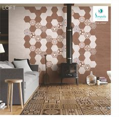 Hexagon Tiles, Your Space, Product Launch, Ceramics, Home Decor, Ceramica, Pottery, Decoration Home, Room Decor