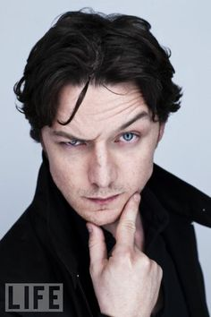 James McAvoy has some serious brow muscle control