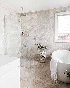 Modern Scandinavian Bathroom Interior In White - home design ideas - Bathroom Decor Beige Bathroom, Diy Bathroom Decor, Small Bathroom, Bathroom Lighting, Bathroom Ideas, Bathroom Goals, Bathroom Designs, Bathroom Spa, Bathroom Organization