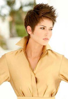 25 Short Trendy Cuts   2013 Short Haircut for Women