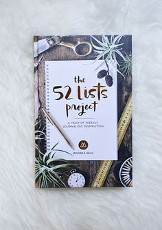 The 52 Lists Project   Giveaway!