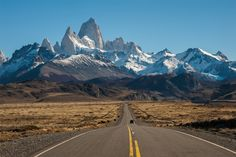 Mt. Fitz Roy Road Wall Mural