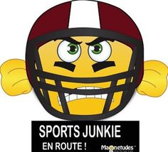EMOJI MAGNET SPORTS JUNKIE - Brought to you by Avarsha.com