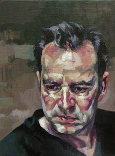 "Saatchi Art Artist Rogier Willems; Painting, ""selfportrait"" #art"