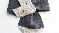 Knit a Cute Fox Scarf - DIY Style - Guidecentral