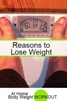 The most important reasons to lose weight are centered on your health? Obesity is the second leading cause of death after smoking. It is associated with an increased mortality rate of all ages including children... http://athomebodyweightworkout.com/reasons-to-lose-weight/