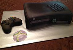 Nik's Xbox cake!!