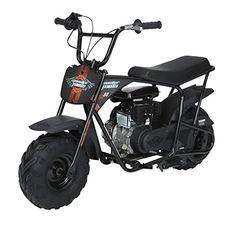 Monster Moto Classic Mini Bike -Assembled in the USA- - Black/Red Mini Motorbike, Mini Bike, Bike Cart, Motor Scooters, Mobility Scooters, Atv Car, Best Gas Mileage, Buy Bike, Bicycle Maintenance