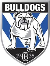 The Canterbury-Bankstown Bulldogs are an Australian professional rugby league football club based in Belmore, a suburb in the Canterbury-Bankstown region of Sydney. They compete in the National Rugby League Nrl Bulldogs, Australian Rugby League, Canterbury Bulldogs, Penrith Panthers, National Rugby League, Wales Rugby, Bulldog Mascot, Soccer Logo, Football Team