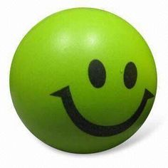 PU Stress Ball in Round Shape, Non-toxic, EN71-approved