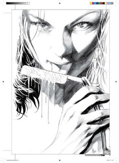 Cazadores de Comics: Sketchbook de Mike Deodato Jr. en Kickstarter