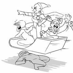 Hilla reptet a sapiban, Sári az irányító, Ábel véletlen a rumos forrócsokit itta meg és Béci a szenvedő alany.