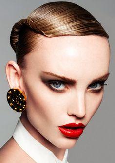 hair by freda rossidis @Christy Ast salons make up kylie o'toole v