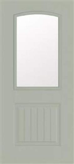 Benchmark By Therma Tru 32 In Half Lite Clear Inswing Entry Door