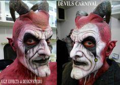 Terrance Zdunich Lucifer Makeup From TDC
