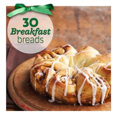 30 delicious breakfast breads, including these maple butter twists: http://www.midwestliving.com/food/holiday/30-scrumptious-holiday-breakfast-breads/