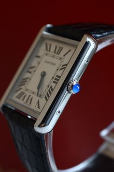Cartier Tank, if you only own one watch in your life ... make it this one