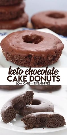 Keto Chocolate Cake Donuts You know what time it is, don't you? It's time to make the keto donuts! And you won't find tastier low carb and sugar-free donuts than these sweet little guys. This is the ultimate low carb donut recipe! Dig in and enjoy. Low Carb Donut, Low Carb Sweets, Low Carb Keto, Low Carb Recipes, Healthy Recipes, Keto Apple Recipes, Cream Cheese Keto Recipes, Keto Desert Recipes, Easy Recipes