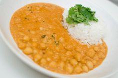 Korma kikert kikerter oppskrift vegetarmat veganmat vegetar vegan indisk mat