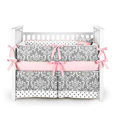 SOHO Pink Camo Baby Crib Nursery Bedding Set 13 pcs included Diaper Bag with Changing Pad & Bottle Case
