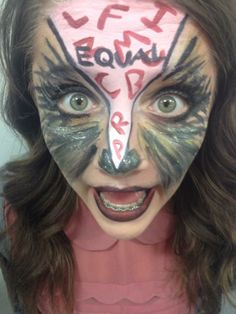 Animal Farm - Raven Makeup with Base - MUA Brandon Barns