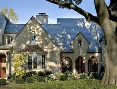 Love the landscaping and gothic windows