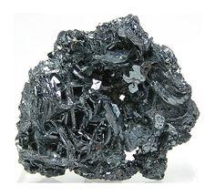 Hematite Shiny Steel Gray Metallic Crystal by FenderMinerals