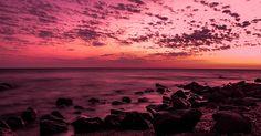 seascape  | #landscape #seascape #water #orange #brown #pink #purple
