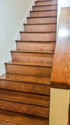 Lovely Basement Stair Tread Covers