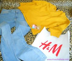 H&M New post  jeans skinny - golf giallo senape pantone 2016 #hm #shopping #outfit #loveshopping #jeans #skinny #senape #pantone #pantone2016 #giallopantone #minisponges #makeup #review #trucchidilally