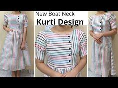 Simple Kurta Designs, New Kurti Designs, Kurta Designs Women, Kurti Designs Party Wear, Stylish Kurtis Design, Stylish Dress Designs, Girls Frock Design, Kids Frocks Design, Design Girl