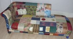 Portfolio | Bespoke Patchwork Chairs and Chaise Longues from Patchwork Bliss