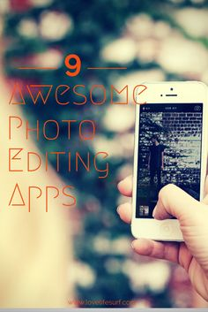 Do you like taking photos with your smartphone? Then you need to check out these 9 awesome photo editing apps to improve your mobile photography.