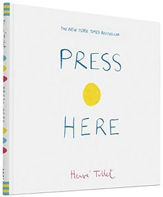 Press Here by Herve Tullet Hardcover Children's Book Only $5.54
