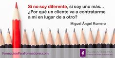 """DEL ARTÍCULO: """"El Valor de diferenciarse como formador"""""""