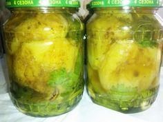 Перец обжаренный целиком, в маринаде,с зеленью и пряностями