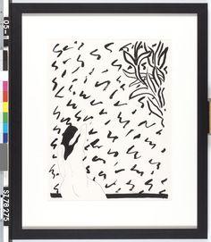 Nr. 7 - C.N.J. de Bueger - 1973  Maat: 68,2cm x 52,8cm  Materiaal: oost-indische inkt op papier  Inventarisnummer: SZ78275