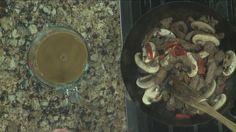 Beef and Portobello Stir Fry