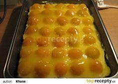 Meruňkové kostky recept - TopRecepty.cz Baking Cupcakes, Cupcake Cakes, Dessert Recipes, Desserts, Pavlova, Amazing Cakes, Food Art, Nutella, Macaroni And Cheese